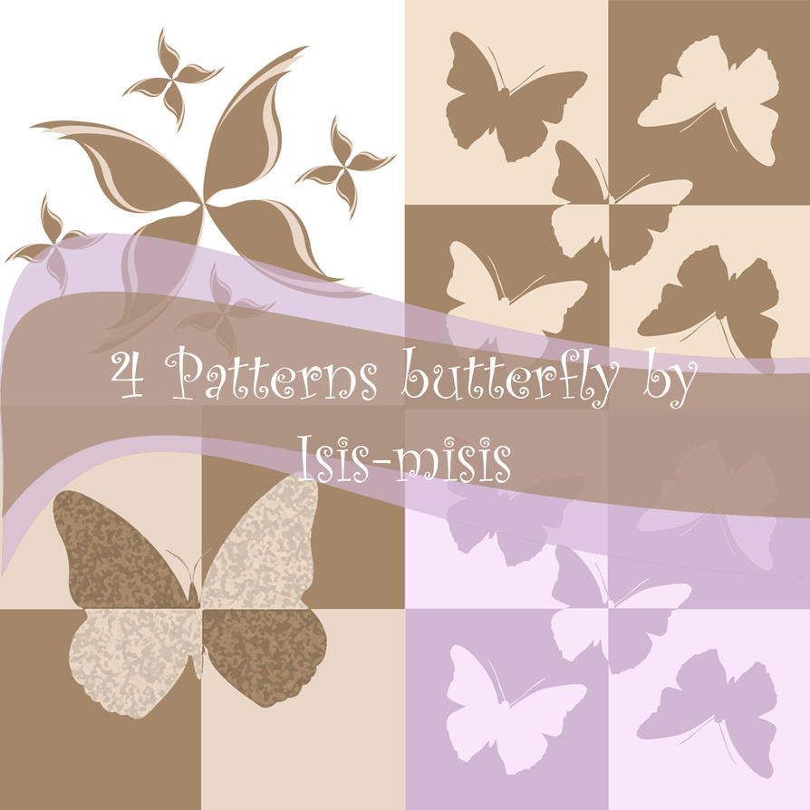 patterns butterfly isis-misis by isis-misis