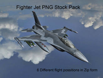 Fighter Jet PNG Stock Pack by Roy3D