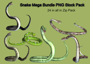 Snake Mega Stock Pack by Roy3D
