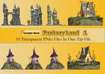 Fantasy Land PNG Stock Pack
