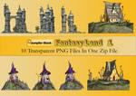 Fantasy Land PNG Stock Pack