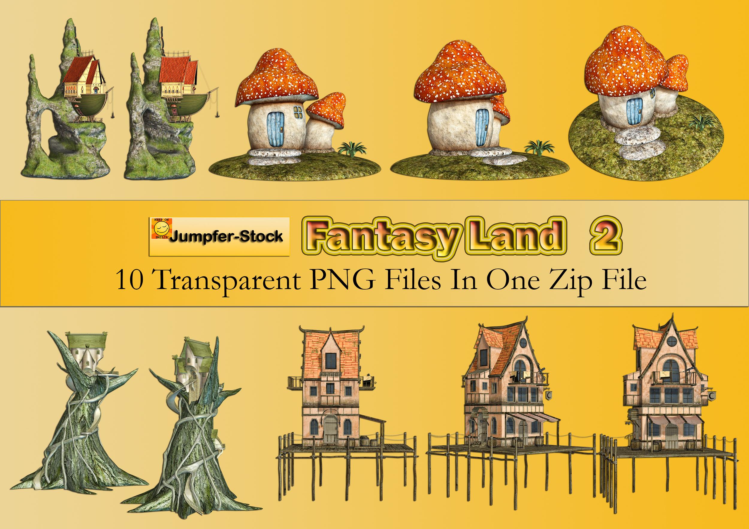 Fantasy Land PNG Stock Pack 2