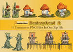 Fantasy Land PNG Stock Pack 2
