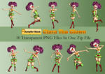 Clara The Clown PNG Stock Pack