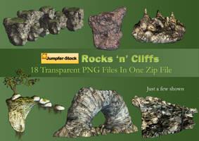 Rocks 'n' Cliffs by Roy3D