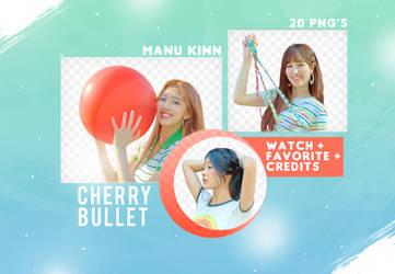 Pack png Cherry Bullet  by ManuKinn