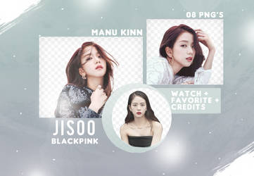 Pack png Jisoo - Blackpink by ManuKinn