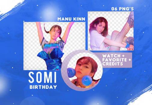 Pack png Somi (Birthday)