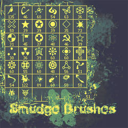 Smudge Brushes II by Zkram