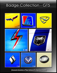 Badge Collection Poster by vanheart