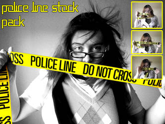 Police Line Stock Pack by Eisoptrophobic-stock
