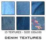 Textures 100x100 - Denim