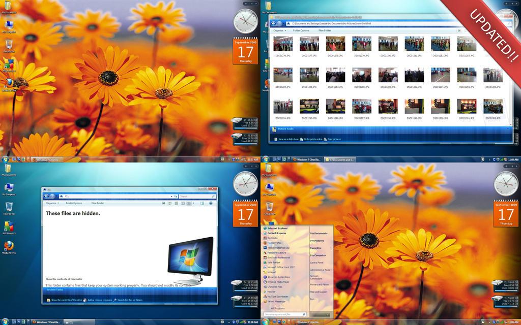 windows xp glass themes free download