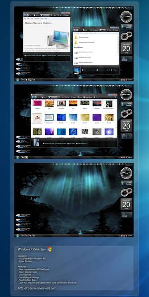 Windows 7 Darkclear No WB