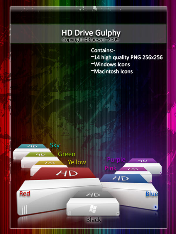 HD Drive Gulphy by caeszer
