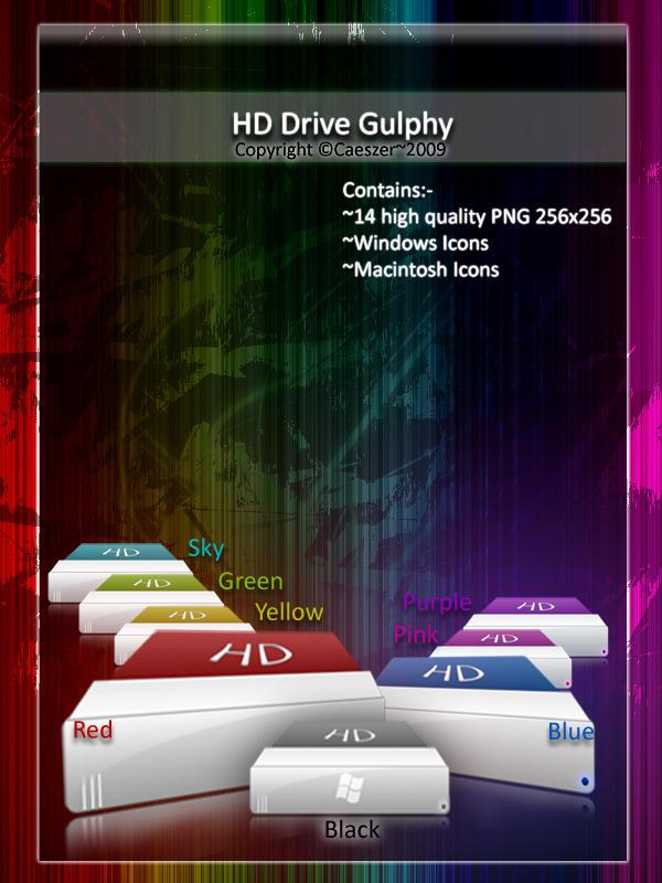HD Drive Gulphy by caeszer