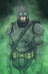 Armored Batman (Ben Affleck) by phil-cho