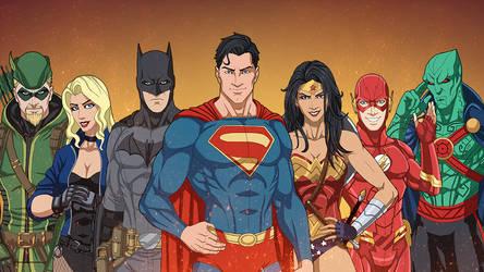 Earth-27 Justice League 2007