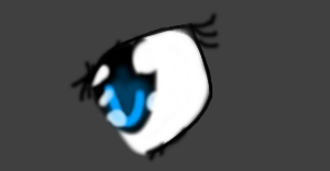 my eye .-. by Scourgra098