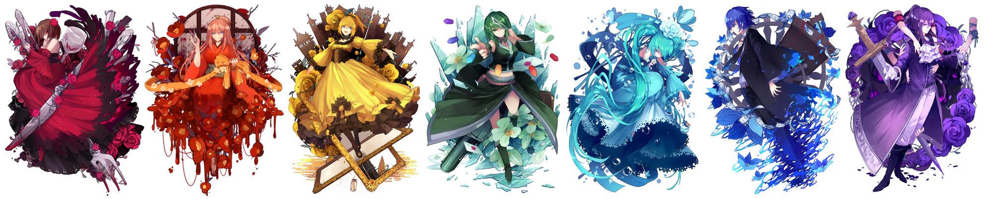 Evillious Chronicles Vocaloid by ArizQuel