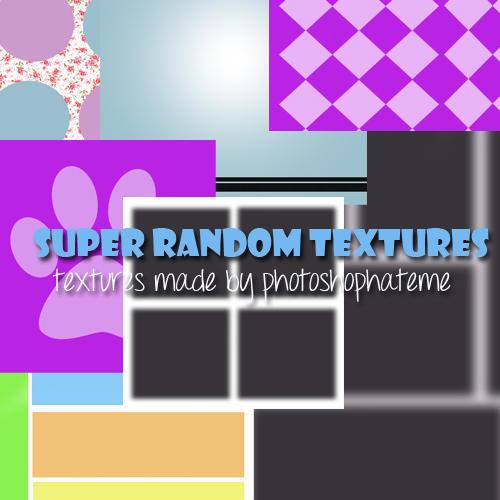 super random textures by iloveusis