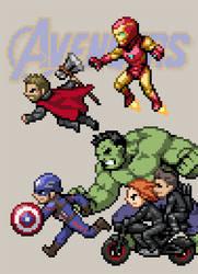 Avengers by HectNishi