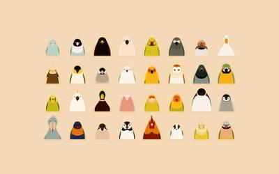 All Birds - tori no iro by birnimal