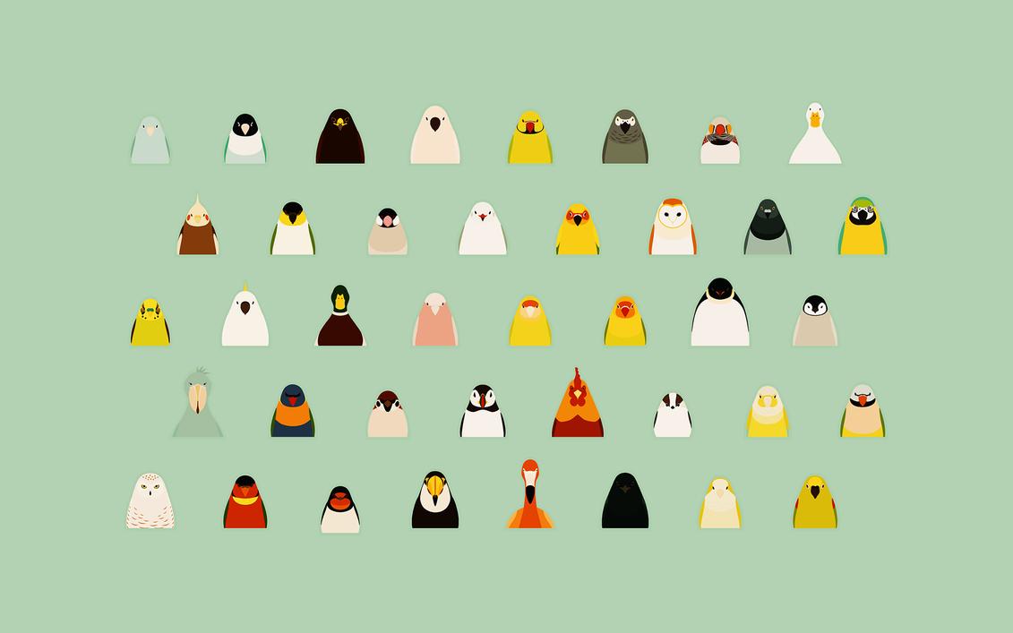 All Birds 02 - tori no iro by birnimal