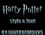 HARRY POTTER STYLE PACK
