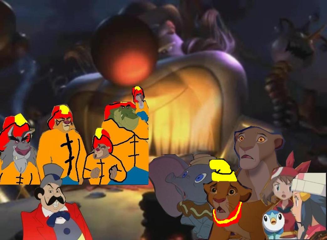 Disney S Villains Revenge 2 By Kingleolionheart On Deviantart
