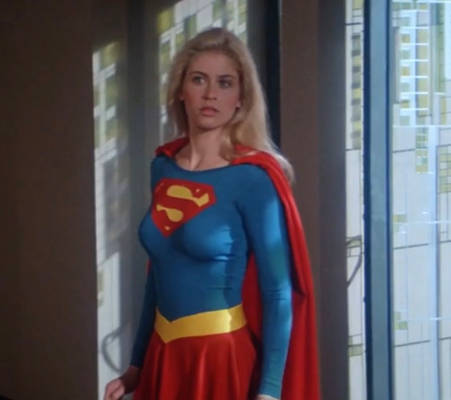 Supergirl looking absolutely amazing