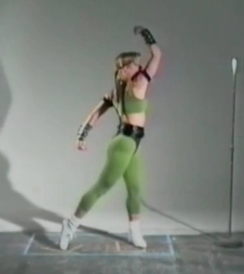 Sexy Sonya Blade Mortal Kombat motion capture
