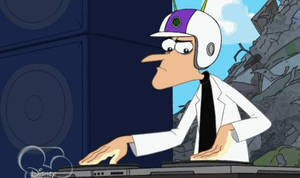 Dr. Heinz Doofenshmirtz, DJ (animated)