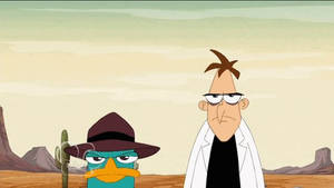 Perry and Doofenshmirtz Lost In The Desert (anim)