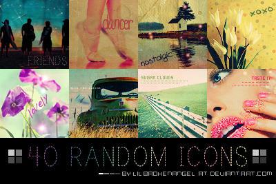 Icons - Random-Stock Set 7 by lilbrokenangel