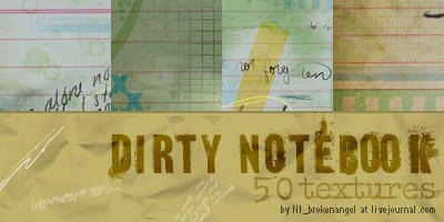 Textures - Dirty Notebook