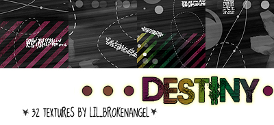 Textures - Destiny by lilbrokenangel