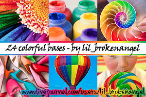 Bases - Colorful things by lilbrokenangel
