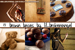 Bases - Brown by lilbrokenangel