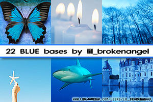 Bases - Blue by lilbrokenangel