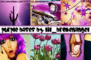 Bases - Purple by lilbrokenangel