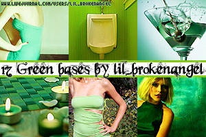 Bases - Green by lilbrokenangel