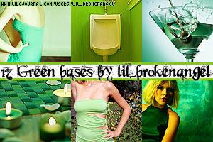Bases - Green by lilbrokenangel