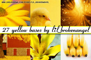 Bases - Yellow by lilbrokenangel