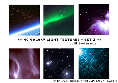 Textures - Galaxy Set 2
