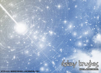 Brushes - Star and Galaxies by lilbrokenangel