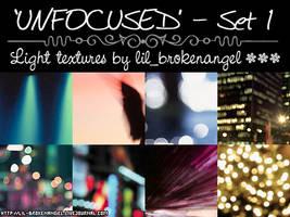 Textures - Unfocused Set 1 by lilbrokenangel