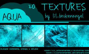 Textures - Aqua by lilbrokenangel