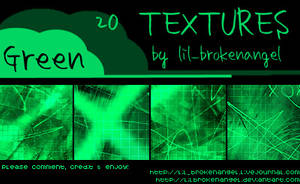 Textures - Green by lilbrokenangel