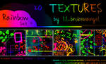Textures - Rainbow Set 2
